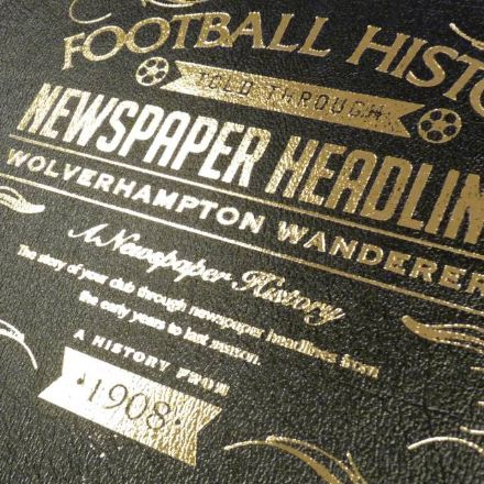 Personalised Leather Football Books - Pick Your Team